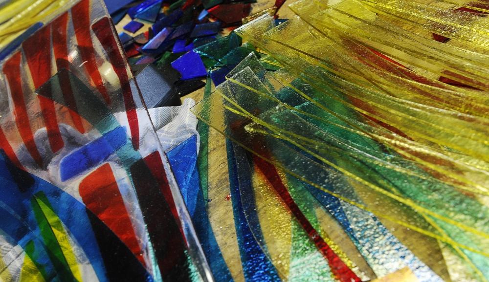 OOTMARSUM - glaskunst van frans houben EDITIE: alle FOTO: Charel van Tendeloo - DTCT CvT20140327